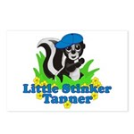 Little Stinker Tanner Postcards (Package of 8)