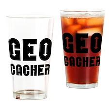 Geocacher Arrows Drinking Glass