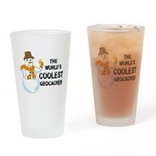 World's Coolest Geocacher Drinking Glass