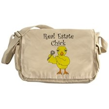 Real Estate Chick Messenger Bag