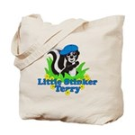 Little Stinker Terry Tote Bag