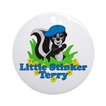Little Stinker Terry Ornament (Round)