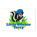 Little Stinker Terry Postcards (Package of 8)