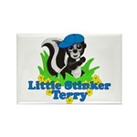 Little Stinker Terry Rectangle Magnet