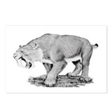 Smilodon Den Postcards (Package of 8)