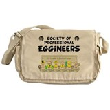 Cute Society of women engineers Messenger Bag