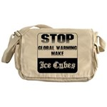 Stop Global Warming Messenger Bag