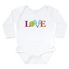 """""""Love"""" Long Sleeve Infant Bodysuit"""