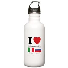 ITALY-RUSSIA Sports Water Bottle
