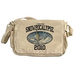 Snowpoocalypse 2010 - NYC Canvas Messenger Bag
