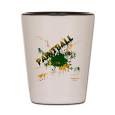 Paintball Shot Glass