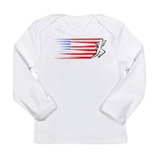 Athletics Runner - USA Long Sleeve Infant T-Shirt