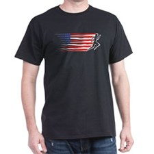 Athletics Runner - USA T-Shirt