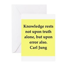 Carl Jung quotes Greeting Cards (Pk of 10)