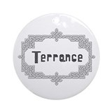"""Celtic Knots Terrance"" Ornament (Round)"