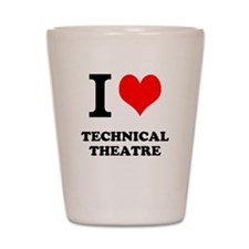 Funny Technical theatre Shot Glass