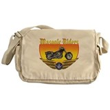 Masonic Bikers Messenger Bag