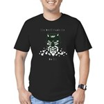 THE DEVIL MADE ME DO IT! Men's Fitted T-Shirt (dar