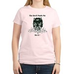 THE DEVIL MADE ME DO IT! Women's Light T-Shirt