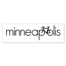 Bike Minneapolis Bumper Sticker