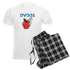 OYOOS Kids Appleworm design Men's Light Pajamas