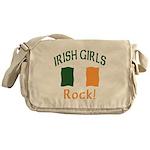 Irish Grils Rock Messenger Bag