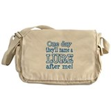 """My Name"" Lure Messenger Bag"