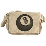 Eight (8) Ball Belly Messenger Bag