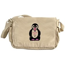Penguin Girl Messenger Bag