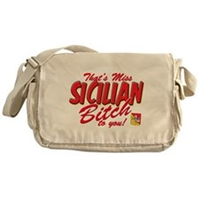 Sicilian Bitch Messenger Bag