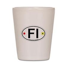 Fenwick Island DE - Oval Design Shot Glass