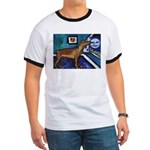PINSCHER dog art design Ringer T