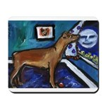 PINSCHER dog art design Mousepad
