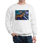 PINSCHER dog art design Sweatshirt
