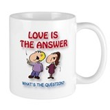 Cute Love is the answer Mug