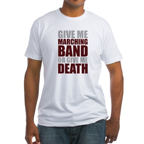 Band or Death Fitted T-Shirt