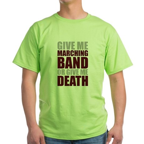 Band or Death Green T-Shirt