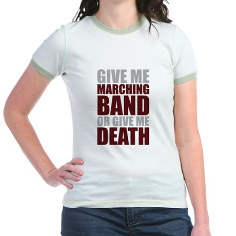 Band or Death Jr. Ringer T-Shirt