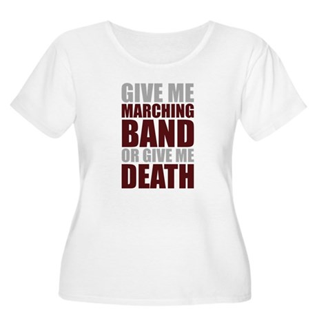 Band or Death Women's Plus Size Scoop Neck T-Shirt