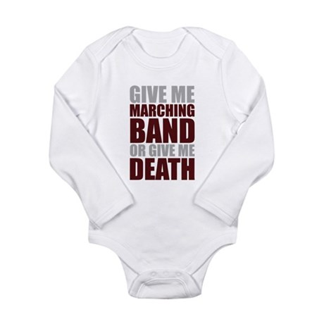 Band or Death Long Sleeve Infant Bodysuit