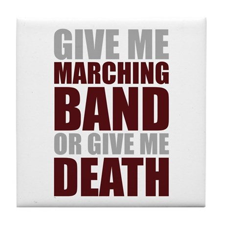 Band or Death Tile Coaster