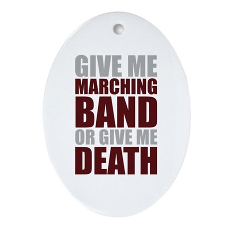 Band or Death Ornament (Oval)