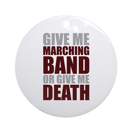 Band or Death Ornament (Round)
