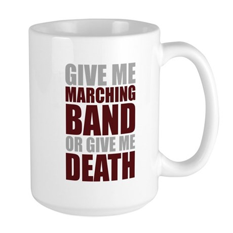 Band or Death Large Mug