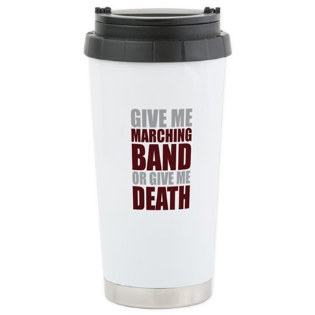 Band or Death Ceramic Travel Mug