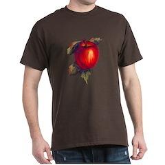 Red Apple Painting Dark T-Shirt