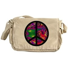 Peace Sign Messenger Bag