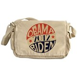 Vintage Obama Biden Messenger Bag