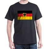 Germany State Flag Black T-Shirt