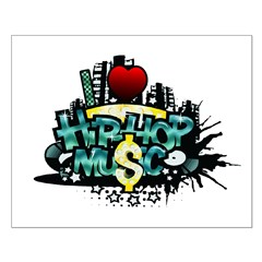 I Heart Hip Hop Music Posters